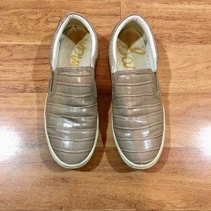 Sam Edelman Slip On Sneakers 9 Gator